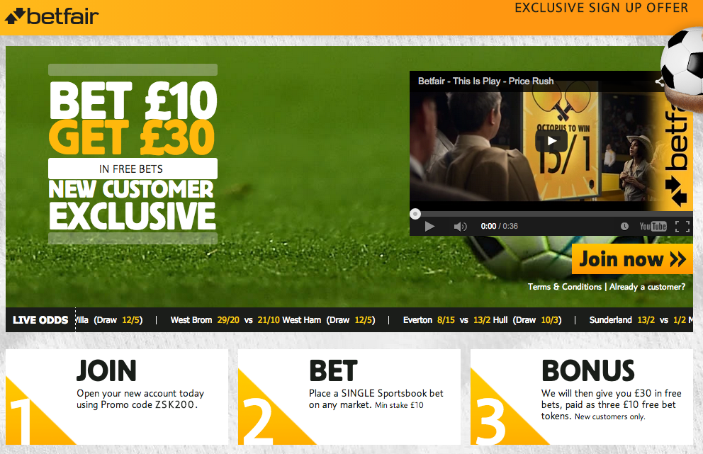 betfair sportsbook free bet activation